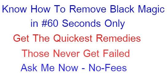 how to remove black magic remedies